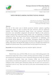 Instructional Design Theories And Models Reigeluth