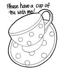 Small Picture Image result for tea cups coloring pages adults Tea party
