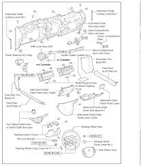 05 prius the fuse box manual says steering column blown graphic