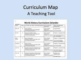Teacher Curriculum Template Curriculum Calendar Or Map Template 7th Grade Common Core
