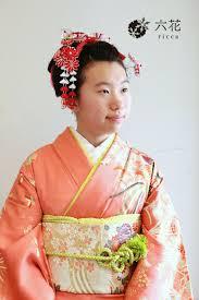 新日本髪風アレンジ 十三参り ヘアスタイル 卒業式 袴卒業式袴