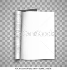 journal paper template open the paper journal paper journal blank magazin transparent
