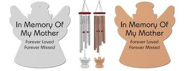 memorial wind chimes mother. Brilliant Chimes MEMORIAL WIND CHIMES  LOSS OF A MOTHER In Memory Of My Mother Forever  Loved Missed Inscription On A Beautiful Memorial Angel Silhouette Wind Chime And Memorial Wind Chimes