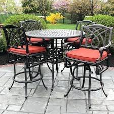 dreaded patio furniture counter height table sets picture concept
