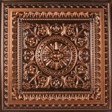 sagging tin ceiling tiles bathroom: old town music hall featuring the antique copper milan ceiling tile