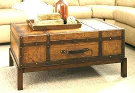 Steamer Trunk Coffee Table For Sale Storage Trunk End Table Storage Trunk  End Table Old Trunk ...