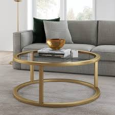 glass round coffee table pier 1