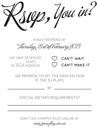 Rsvp Template Online Wedding Rsvp Template Song Request Wording Email