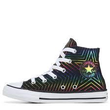 Chuck Taylor All Star Size Chart Converse Kids Chuck Taylor All Star High Top Sneakers