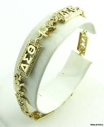 14k yellow gold delta sigma theta sorority by wilsonbrothers 649 99 a must for when i have my grown up money