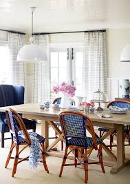 Blue French Bistro Chairs via Andrew Howard Design