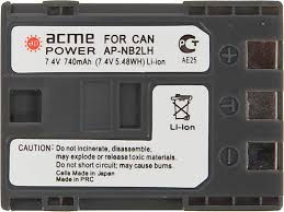 <b>ACME POWER AP</b>-<b>NB</b>-<b>2L</b> для CANON (7.4V, 740 mAh, Li-ion ...