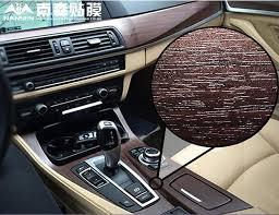 car interior wood leather sticks foil stickers change color