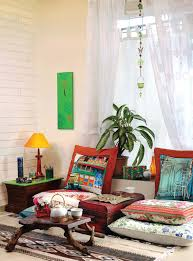 low height furniture design. Exellent Furniture Boho Eclectic Cozy Nook With Low Height Furniture  NONAGONstyle With Low Height Furniture Design M