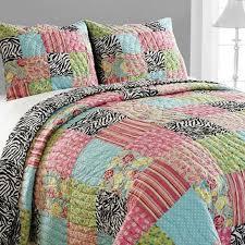 41 best bedding images on Pinterest   Cushion covers, Pillow shams ... & Amity Home Zebra Patchwork Quilt Set & Reviews   Wayfair Adamdwight.com