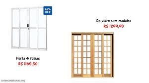 As portas de alumínio com vidro, chamados postigos, móveis ou fixos, são ótima opção para aproveitar a luz do sol, além de contribuir para a circulação de ar. 59 Modelos De Portas De Correr De Vidro Lindas E Modernas