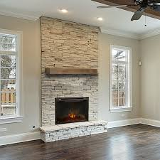Vail - Wood Mantel Shelf - Fireplace Mantel Shelves - Floating ...