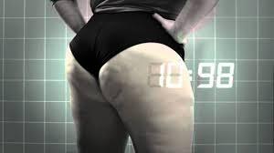 Big butt slow mo