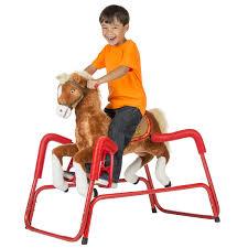 rockin rider lucky spring rocking horse baby nursery cool bee animal rocking horse