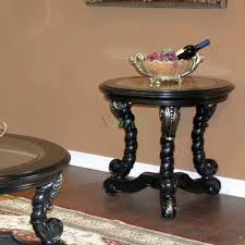 faux marble top silver round end table toronto xiorex