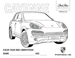 Porsche Panamera Coloring Pages Wiring Diagram Database