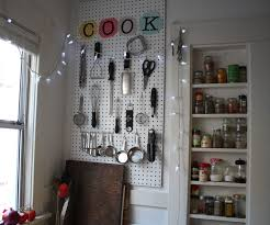 Pegboard Kitchen Kitchen Pegboard Organizer With Pictures
