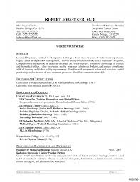 Unique Cover Letter For Radiologic Technologist On Radiologic
