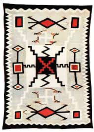 early development of the storm pattern rug weaving in beauty