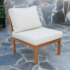 wood outdoor sectional. Belham Living Brighton Outdoor Wood Conversation Sectional Set | Hayneedle .