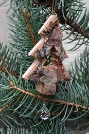 Rührende Rindenanhänger Tannenbaum Mit Kristall
