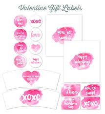 And a lot of other really great printables for valentines day. Valentines Day Label Templates Worldlabel Blog