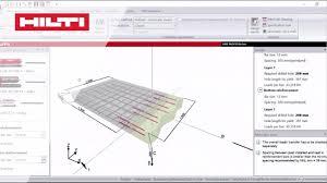 Hilti Anchor Bolt Design Manual How To Create A Slab To Slab Design Hilti Profis Rebar Video Tutorial Episode 3