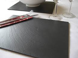 welsh slate placemats grasi notonthehighstreet slate tablemats