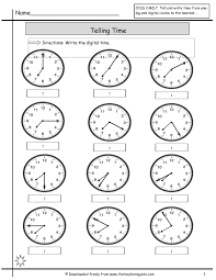 Time Worksheets Beautiful Digital Time Worksheets for Grade 24 thejquery 1