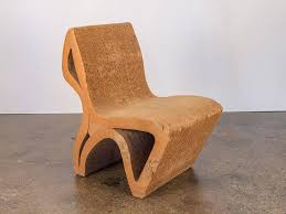 cardboard chair design. Unique, One-off Vintage Corrugated Cardboard Chair. Reminiscent Of Frank  Gehry\u0027s Wiggle Chair Design C