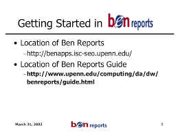 March 31 Overview University Of Pennsylvania Ppt Download