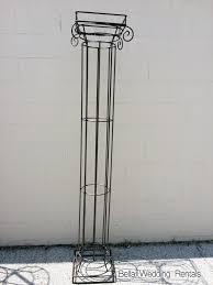 wought iron column