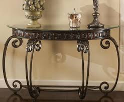 metal and glass console table glasetal console tables manor metal and glass console table