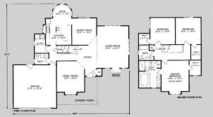 exclusive design 19 2200 sq ft one story house plans 2500 square foot colonial style plan