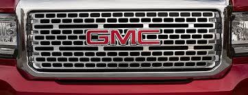 2018 gmc midsize truck. brilliant 2018 closeup image of the unique grille design featured on 2018 canyon  denali premium small pickup and gmc midsize truck