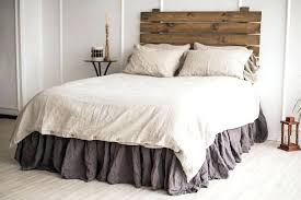 natural full levtex home queen in light grey image 0 washed linen duvet cover uk set with two post