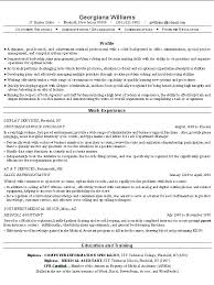 administrative resume writing examples writing sample resume