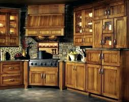 hickory kitchen cabinets for birch pecan stained rustic denver