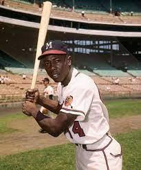 Hank Aaron, Hall of Famer and Baseball ...