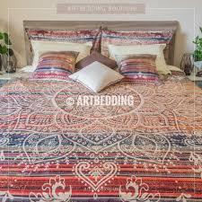 bed cover sets. Bohemian Bedding, Mehendi Mandala Duvet Bedding Set, Vintage Boho Cover Bed Sets