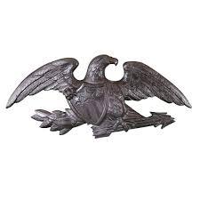 deluxe swedish iron wall eagle