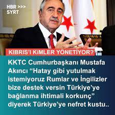 """yusuf kaplan on Twitter: """"Köle ruhlu birinin KKTC Cumhurbaşkanı olması  yüzkarasıdır. * Mustafa Akıncı derhal istifa etmeli, Rum veya İngiliz  vatandaşlığına geçmelidir.… https://t.co/CEIfRzqb9X"""""""