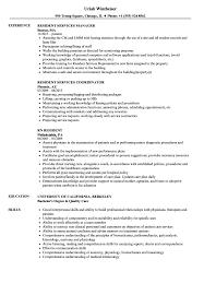 resident resume sle as image file