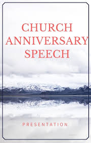 Church Anniversary Welcome Speeches For Scriptures About Church