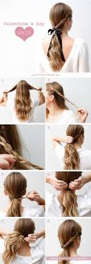 Hairstyles For School Step By Step 25 Best Ideas About Simple Ponytail Hairstyles On Pinterest